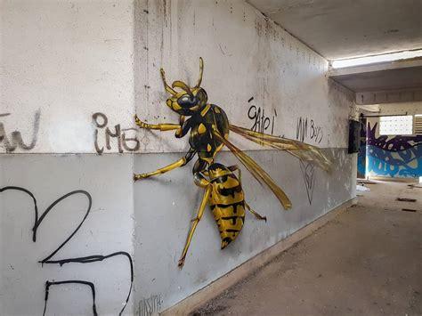 graffitis insectes  la boite verte
