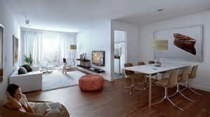 wohn esszimmer ideen d 233 coration salon salle 224 manger comment optimiser l espace