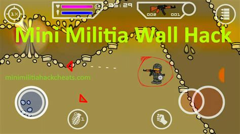 Mini Militia Fly Through Walls Hack Mod Apk