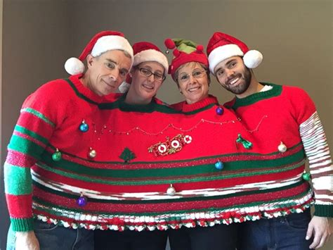 best play to get ugly christmas sweaters in az sweaters to get you in the spirit abc news