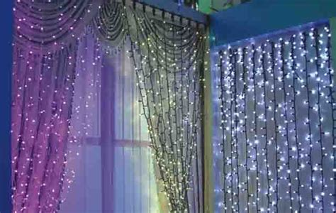 light up curtains one of the best light up party ideas easy diy decor
