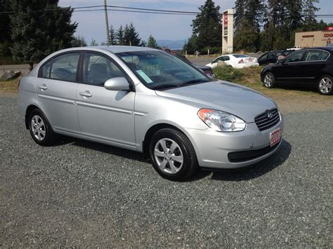 2008 Hyundai Accent Gls by 2008 Hyundai Accent Gls 4 Door Outside