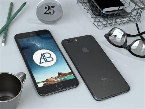 digital mock up design review 4 mockups del iphone 7 y iphone 7 plus en psd
