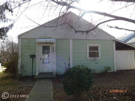 Houses For Sale In Silver Md by 1506 Gleason St Silver Md 20902 Foreclosed Home