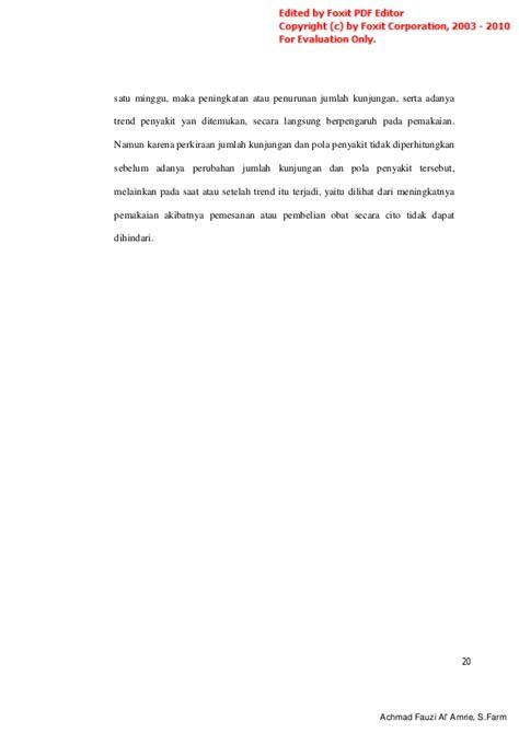 Dasar Dasar Manajemen Farmasi manajemen persediaan farmasi rs