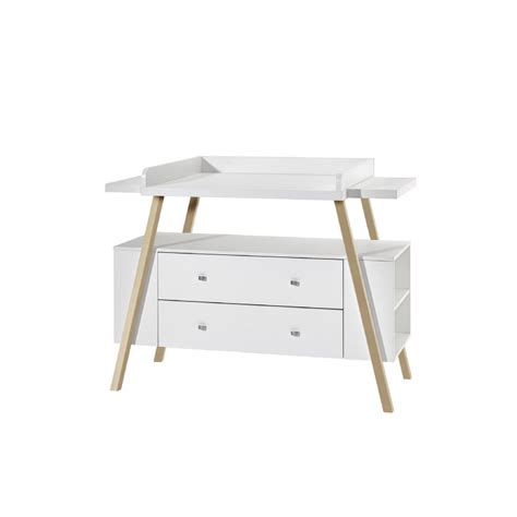 commode avec table a langer schardt commode 224 langer avec table nature large