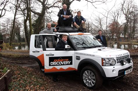 land rover is made by ranulph fiennes in the millionth land rover discovery is