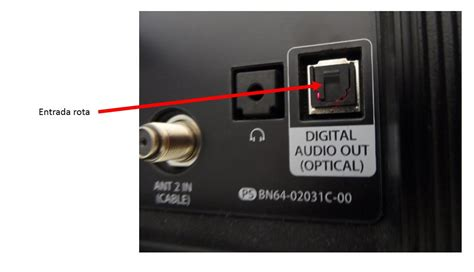 entrada optica tv reparar la salida de audio optico del televisor forocoches