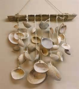 seashell wind chime u have 2 hands do it yourself
