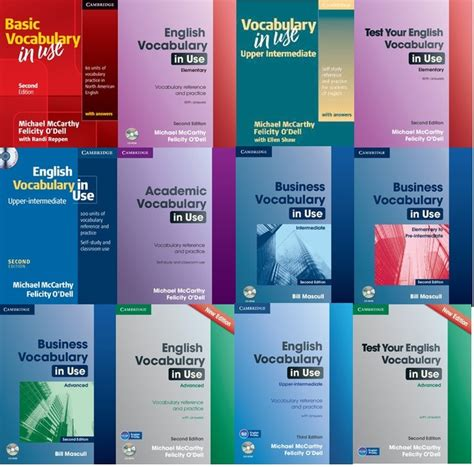 Cambridge In Use Series E Book Audio Software vocabulary for advanced learners pdf series 4000 essential words 1 2 3 4 5 6