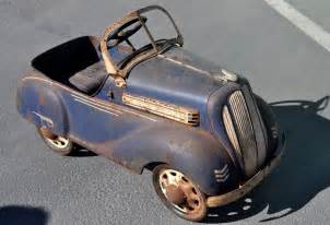 just a car one cool pedal car