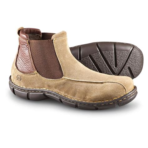 born mens boots s born 174 damon boots taupe 185061 casual