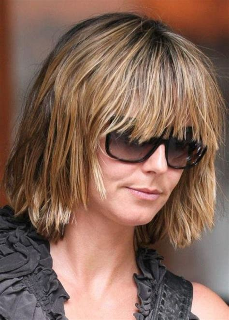 Medium Hairstyles For 50 With Glasses by Hairstyles For Medium Length Hair With Glasses To