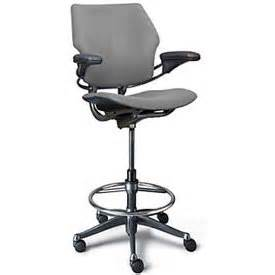 high office chair humanscale freedom ergonomic drafting leather high office
