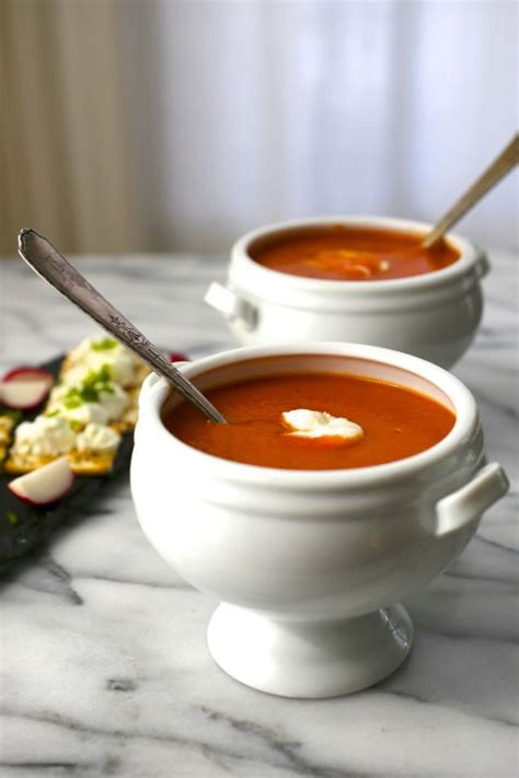 easy delicious tomato soup nerds with knives