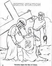 stations of the cross coloring pages coloring stations