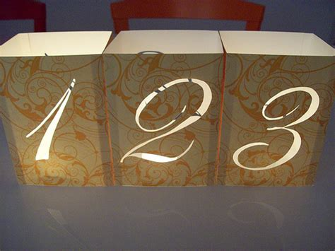wedding reception table number ideas diy wedding table numbers with illuminated numbers and