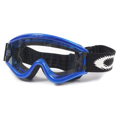 motocross goggles for glasses oakley mx l frame blue the glasses otg motocross