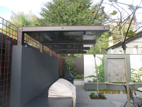 pergola with glass roof of the month camberwell project