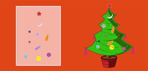 merry christmas tree greeting card  kids mocomi