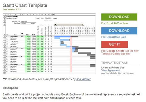 project management gantt chart excel template gantt chart project management excel template