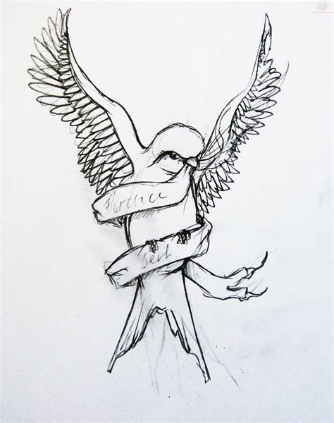 tattoo designs drawing only bird designs line drawing