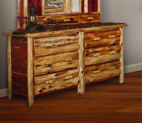 red cedar bedroom furniture red cedar log queen size 5 pc bedroom furniture set