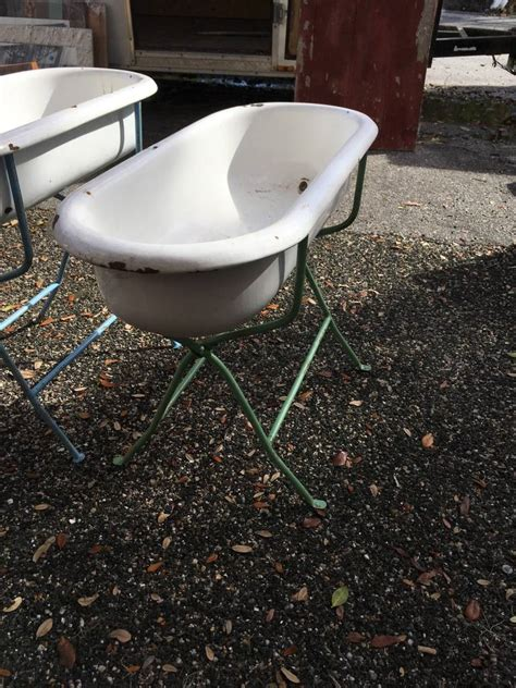hungarian baby bathtub hungarian baby bath w stand sarasota architectural salvage