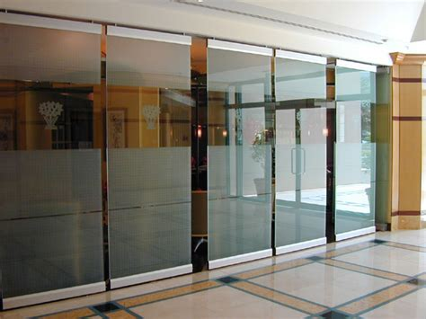glass folding wall frosted glass partition walls glass