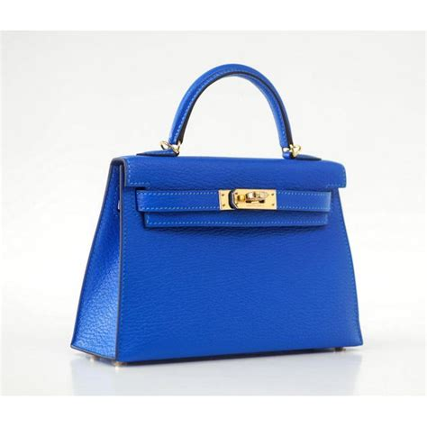 Tas Mini Uk 20 hermes bag 20cm mini ii blue hydra chevre gold