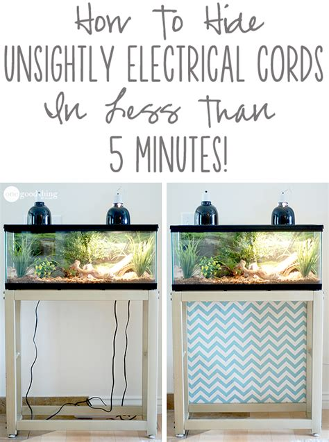 Best Thing To Clean Shower Tile by How To Hide Unsightly Electrical Cords In Less Than 5