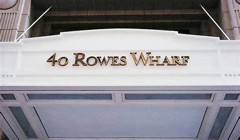 Rowes Wharf Garage by Poulin Morris Rowes Wharf Boston Harbor Hotels