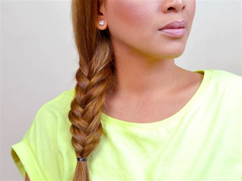 make a fishtail braid wikihow 3 ways to make a fishtail braid wikihow