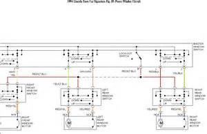 1994 lincoln town car executive a diagram wiring power windows