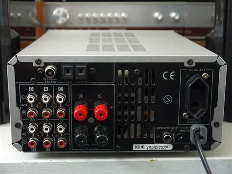 yamaha rx  stereo receiver audiobaza