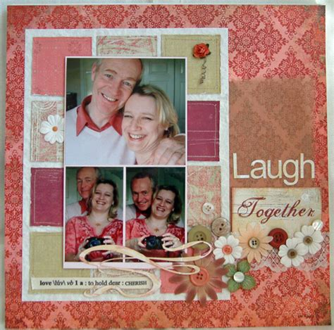 layout of scrapbook scrapbooking layout inspiration patchwork style