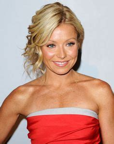 kelly ripa with curls nice hairstyles on pinterest updos medium length hairs