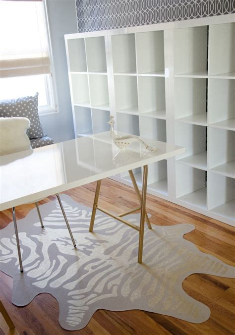 desk with gold legs ikea high gloss linnmon tabletop in white trestle legs