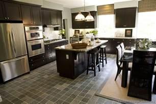 Dark Wood Kitchen Ideas by Espresso Kitchen Cabinets Kitchen Design Ideas