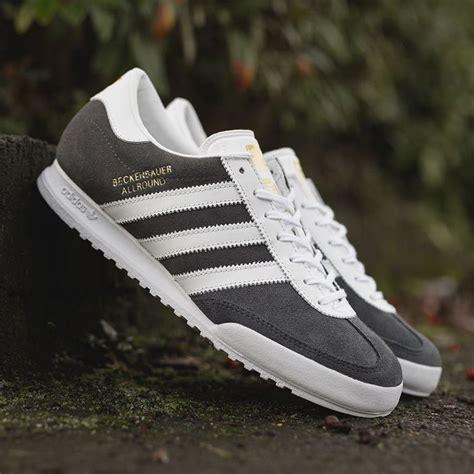 Sepatu Adidas Beckenbauer Allround adidas originals beckenbauer allround grey white