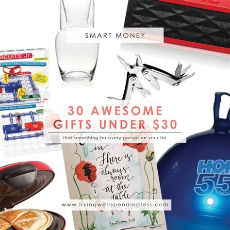 cheap awesome gifts 30 awesome gifts 30 living well spending less 174