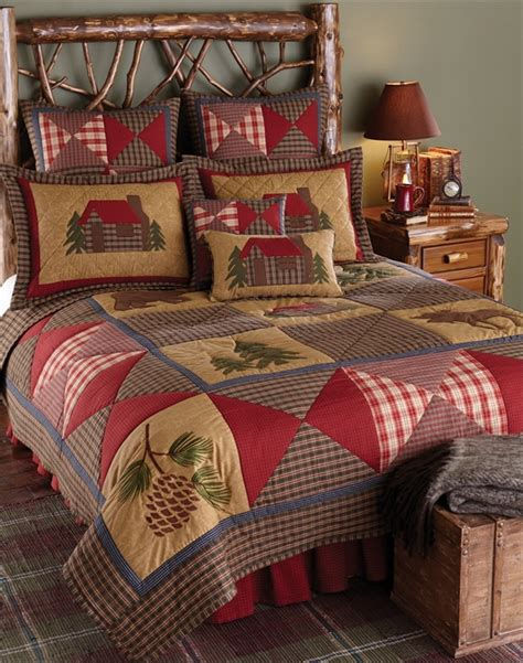 home design bedding cabin quilt blackmountainquilts net quilted bedding