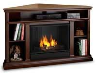 corner gel fireplaces for sale by real just fireplaces