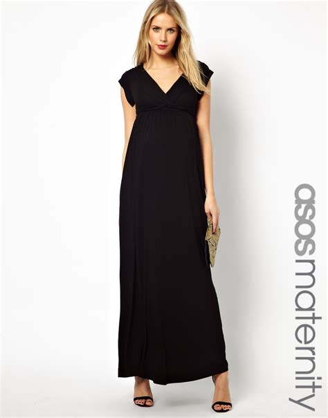 maternity drape dress asos maternity exclusive drape maxi dress with ties in