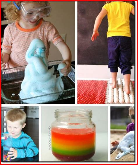 science experiments to do at home project