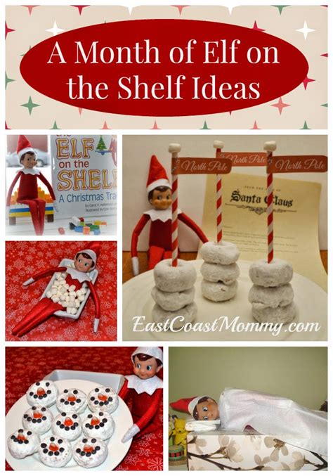 ideas elf on the shelf east coast mommy a month of fantastic elf on the shelf
