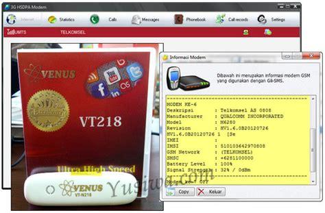 Modem Venus Vt N218 software gili sms dengan modem venus vt n218