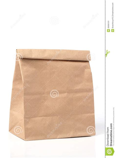 Folded Paper Bag - folded paper bag stock image image of recycled shop