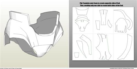 iron foam armor templates iron foam armor templates choice image template