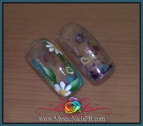 aquarium nail art tutorial aquarium nails u 241 a pecera nail art gallery